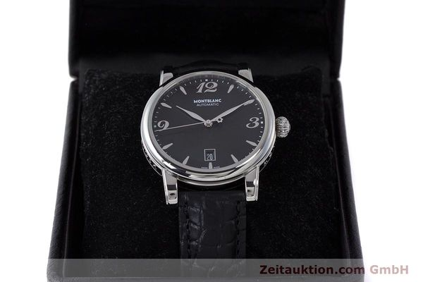 Used luxury watch Montblanc Star Date steel automatic Kal. 4810401 Eta 2892A2 Ref. 7190  | 161965 07