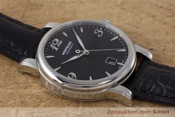 Used luxury watch Montblanc Star Date steel automatic Kal. 4810401 Eta 2892A2 Ref. 7190  | 161965 13