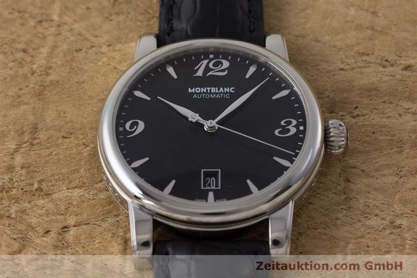 Used luxury watch Montblanc Star Date steel automatic Kal. 4810401 Eta 2892A2 Ref. 7190  | 161965 14