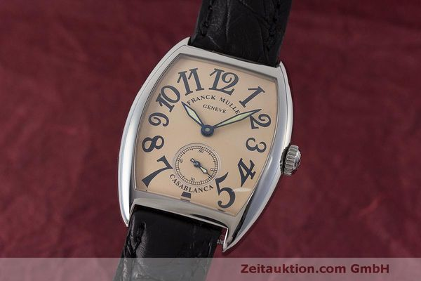 FRANCK MULLER CASABLANCA STEEL MANUAL WINDING LP: 6400EUR [161968]