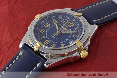 BREITLING WINGS ACIER / OR QUARTZ KAL. B66 ETA 955122 LP: 2470EUR [161972]
