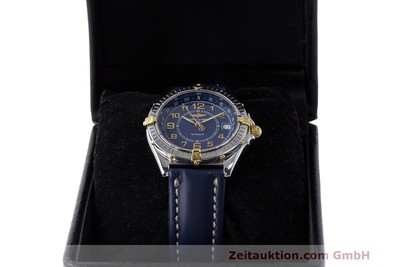 BREITLING WINGS STEEL / GOLD QUARTZ KAL. B66 ETA 955122 LP: 2470EUR [161972]