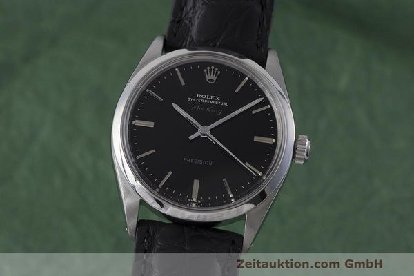 Used luxury watch Rolex Precision steel automatic Kal. 1520 Ref. 5500 VINTAGE  | 161977 04