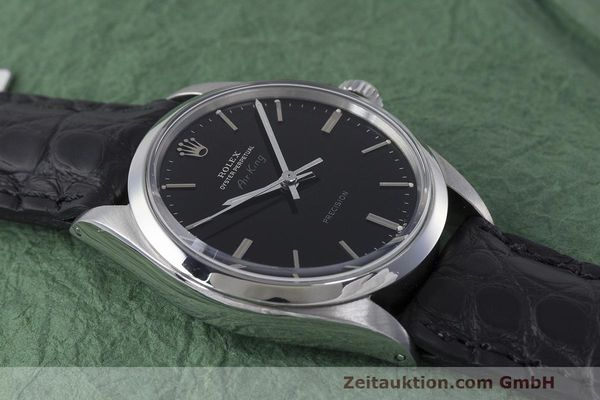 Used luxury watch Rolex Precision steel automatic Kal. 1520 Ref. 5500 VINTAGE  | 161977 14