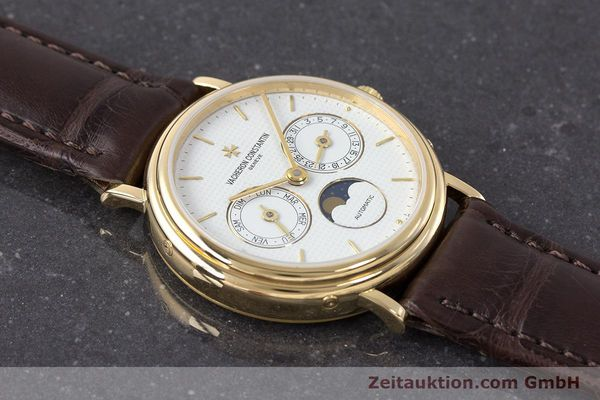 Used luxury watch Vacheron & Constantin * 18 ct gold automatic Kal. 1126  | 161980 14