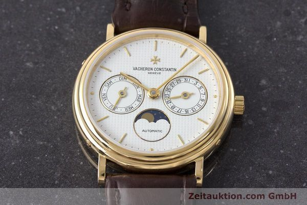 Used luxury watch Vacheron & Constantin * 18 ct gold automatic Kal. 1126  | 161980 15