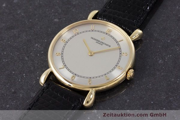 Used luxury watch Vacheron & Constantin * 18 ct gold manual winding Kal. 1003/1 Ref. 33084 VINTAGE  | 161986 01