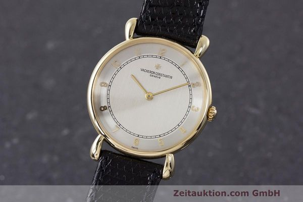 VACHERON CONSTANTIN 18K GOLD HERRENUHR MEDIUM HANDAUFZUG 33084 VP: 27200,- EURO [161986]