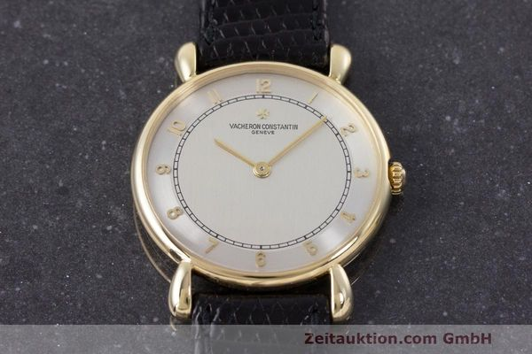 Used luxury watch Vacheron & Constantin * 18 ct gold manual winding Kal. 1003/1 Ref. 33084 VINTAGE  | 161986 14