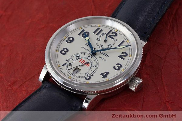 Used luxury watch Ulysse Nardin Marine Chronometer steel automatic Kal. ETA 2892A2 Ref. 263-22  | 161990 01