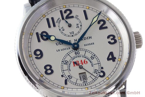 Used luxury watch Ulysse Nardin Marine Chronometer steel automatic Kal. ETA 2892A2 Ref. 263-22  | 161990 02