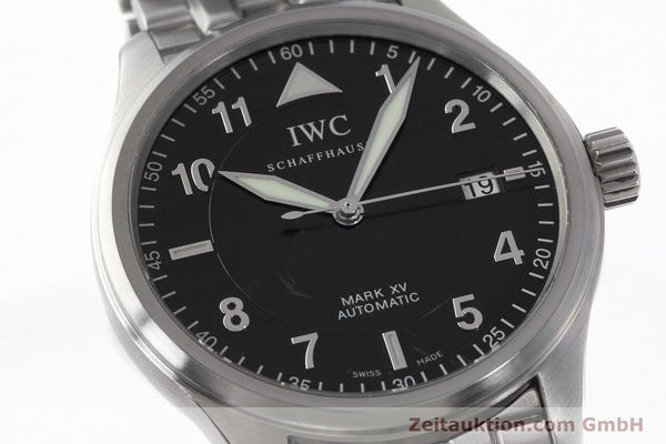 Used luxury watch IWC Mark XV steel automatic Kal. 30110 Ref. 3253  | 161993 02