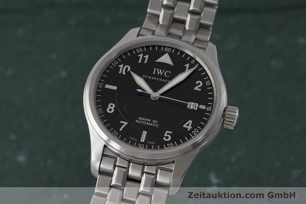 Used luxury watch IWC Mark XV steel automatic Kal. 30110 Ref. 3253  | 161993 04
