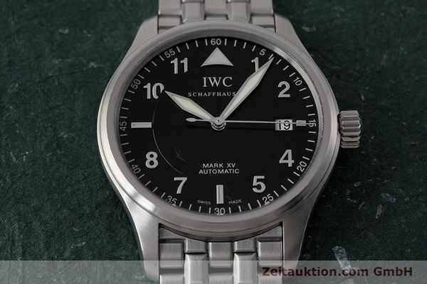 Used luxury watch IWC Mark XV steel automatic Kal. 30110 Ref. 3253  | 161993 16