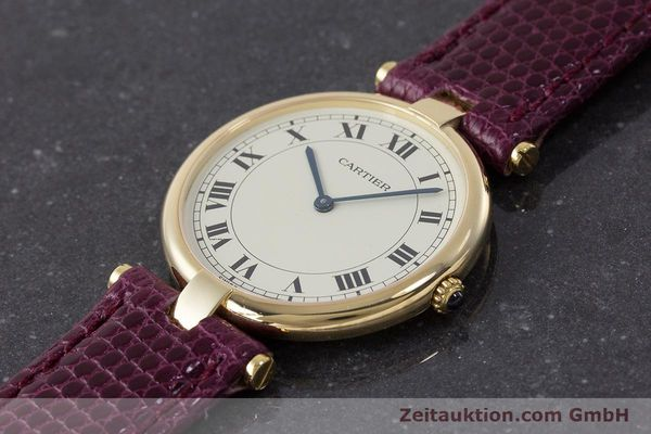 Used luxury watch Cartier * 18 ct gold quartz Kal. 81  | 161994 01