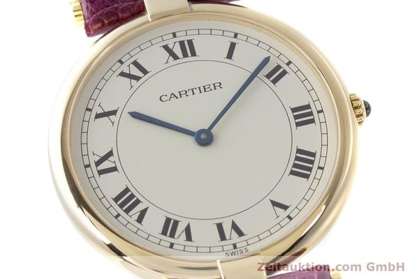 Used luxury watch Cartier * 18 ct gold quartz Kal. 81  | 161994 02