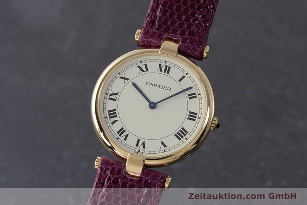 Used luxury watch Cartier * 18 ct gold quartz Kal. 81  | 161994 04