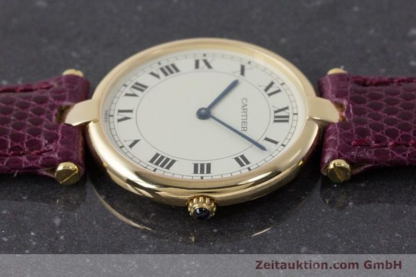 Used luxury watch Cartier * 18 ct gold quartz Kal. 81  | 161994 05