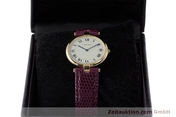 Used luxury watch Cartier * 18 ct gold quartz Kal. 81  | 161994 07