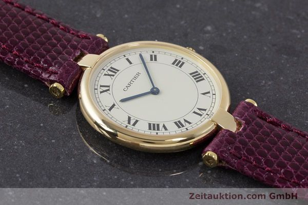 Used luxury watch Cartier * 18 ct gold quartz Kal. 81  | 161994 11