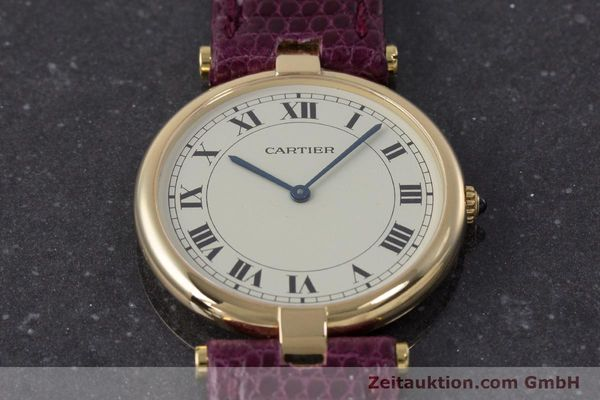 Used luxury watch Cartier * 18 ct gold quartz Kal. 81  | 161994 12