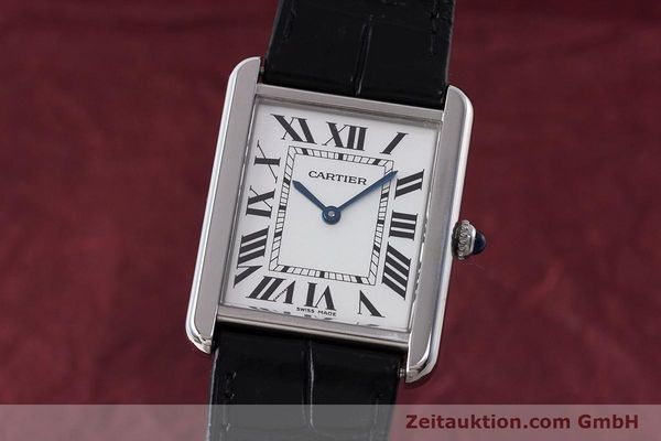 Used luxury watch Cartier Tank steel quartz Kal. 690 Ref. 2715  | 161997 04