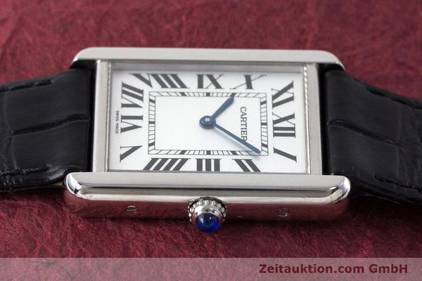 Used luxury watch Cartier Tank steel quartz Kal. 690 Ref. 2715  | 161997 05