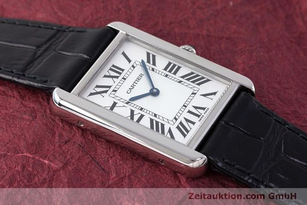 Used luxury watch Cartier Tank steel quartz Kal. 690 Ref. 2715  | 161997 11