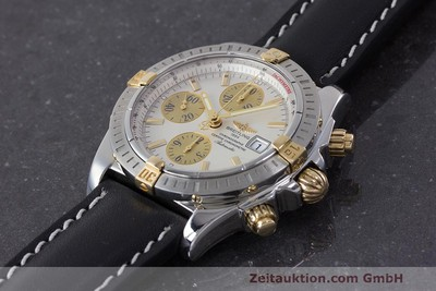 BREITLING EVOLUTION CHRONOGRAPHE ACIER / OR AUTOMATIQUE KAL. B13 ETA 7750 LP: 7420EUR [161998]