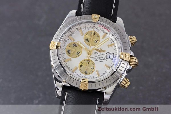 BREITLING EVOLUTION CHRONOGRAPH STEEL / GOLD AUTOMATIC KAL. B13 ETA 7750 LP: 7420EUR [161998]