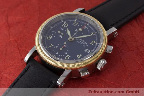 Used luxury watch Mühle Chronograph II chronograph steel / gold automatic Kal. ETA 7750 Ref. M1-31-50  | 162001 01