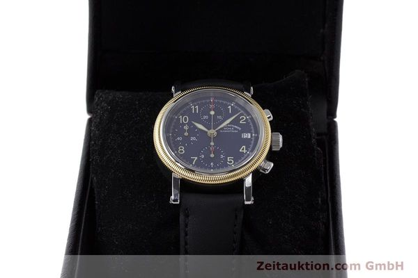 Used luxury watch Mühle Chronograph II chronograph steel / gold automatic Kal. ETA 7750 Ref. M1-31-50  | 162001 07