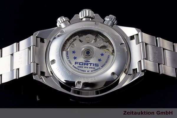 Used luxury watch Fortis Cosmonauts Chronograph chronograph steel automatic Kal. Valj. 7750 Ref. 401.26.141  | 162008 02