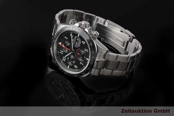 Used luxury watch Fortis Cosmonauts Chronograph chronograph steel automatic Kal. Valj. 7750 Ref. 401.26.141  | 162008 05