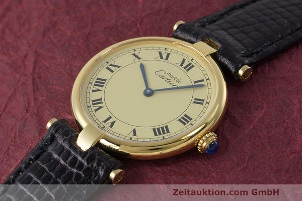 Used luxury watch Cartier Vermeil silver-gilt quartz Kal. 90  | 162010 01