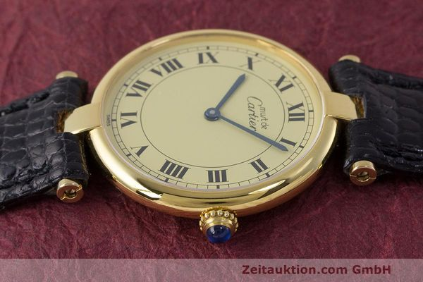 Used luxury watch Cartier Vermeil silver-gilt quartz Kal. 90  | 162010 05