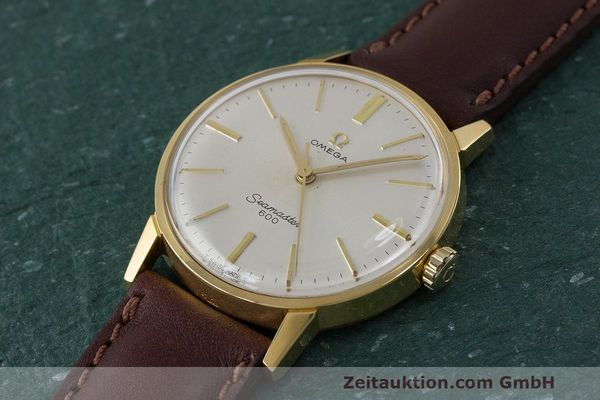 Used luxury watch Omega Seamaster gold-plated manual winding Kal. 601 Ref. 135.001 VINTAGE  | 162014 01