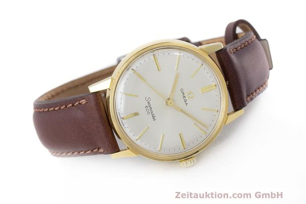 Used luxury watch Omega Seamaster gold-plated manual winding Kal. 601 Ref. 135.001 VINTAGE  | 162014 03