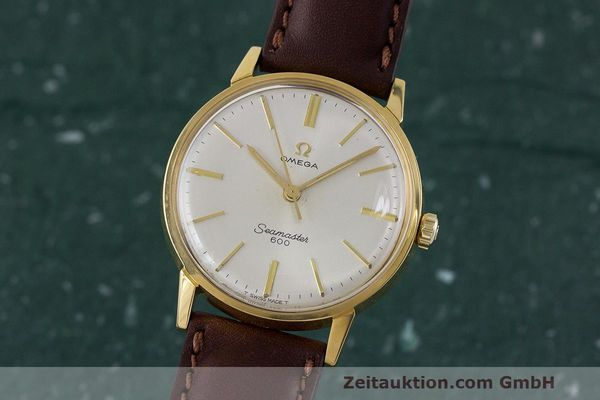 Used luxury watch Omega Seamaster gold-plated manual winding Kal. 601 Ref. 135.001 VINTAGE  | 162014 04