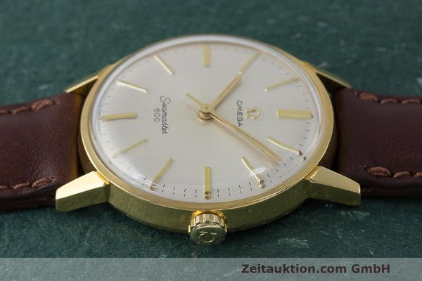 Used luxury watch Omega Seamaster gold-plated manual winding Kal. 601 Ref. 135.001 VINTAGE  | 162014 05