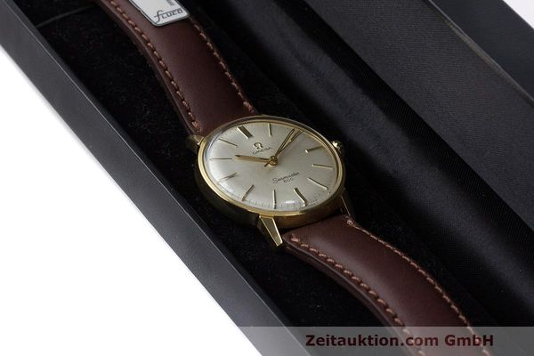 Used luxury watch Omega Seamaster gold-plated manual winding Kal. 601 Ref. 135.001 VINTAGE  | 162014 07