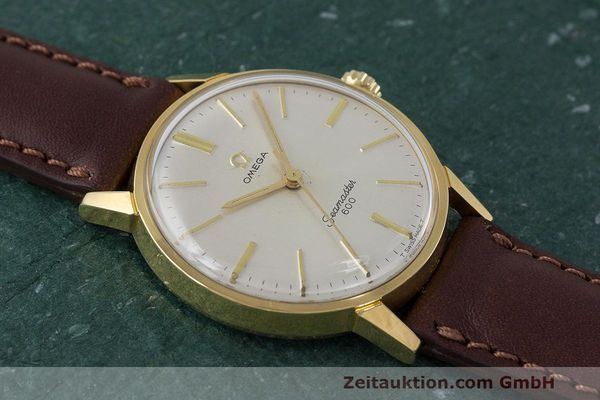 Used luxury watch Omega Seamaster gold-plated manual winding Kal. 601 Ref. 135.001 VINTAGE  | 162014 13