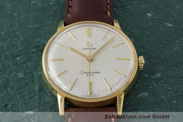 Used luxury watch Omega Seamaster gold-plated manual winding Kal. 601 Ref. 135.001 VINTAGE  | 162014 14
