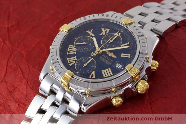 Used luxury watch Breitling Crosswind chronograph steel / gold automatic Kal. B13 ETA 7750 Ref. B13355  | 162016 01