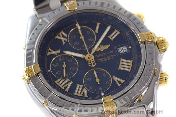 Used luxury watch Breitling Crosswind chronograph steel / gold automatic Kal. B13 ETA 7750 Ref. B13355  | 162016 02