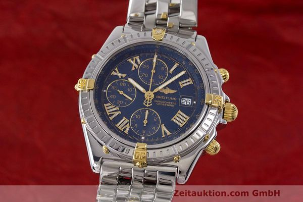 Used luxury watch Breitling Crosswind chronograph steel / gold automatic Kal. B13 ETA 7750 Ref. B13355  | 162016 04