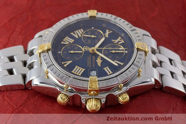 Used luxury watch Breitling Crosswind chronograph steel / gold automatic Kal. B13 ETA 7750 Ref. B13355  | 162016 05