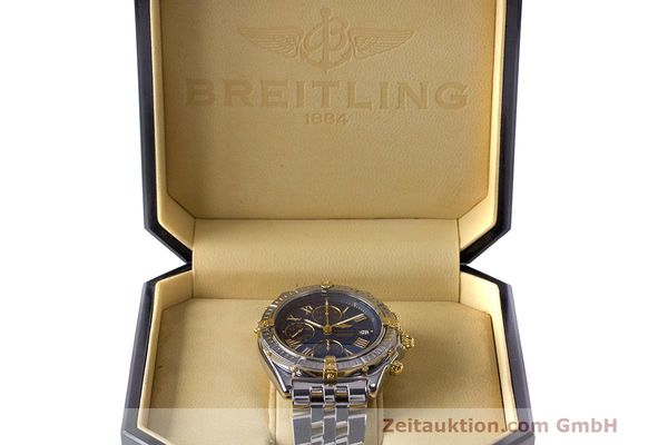 Used luxury watch Breitling Crosswind chronograph steel / gold automatic Kal. B13 ETA 7750 Ref. B13355  | 162016 07