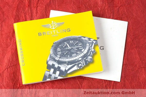 Used luxury watch Breitling Crosswind chronograph steel / gold automatic Kal. B13 ETA 7750 Ref. B13355  | 162016 13