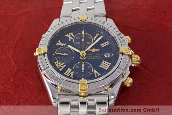 Used luxury watch Breitling Crosswind chronograph steel / gold automatic Kal. B13 ETA 7750 Ref. B13355  | 162016 17